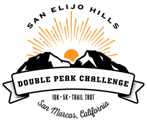 Double Peak Challenge logo on RaceRaves