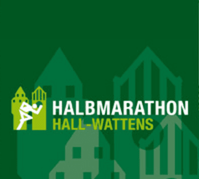 Hall-Wattens Half Marathon logo on RaceRaves