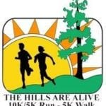 The Hills Are Alive 10K & 5K logo on RaceRaves