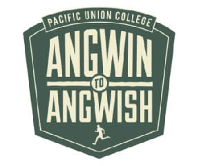 Angwin to Angwish Trail Run logo on RaceRaves