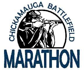 Chickamauga Battlefield Marathon & Half Marathon logo on RaceRaves
