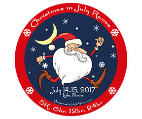 Christmas in July Races 6h/12h/24h logo on RaceRaves