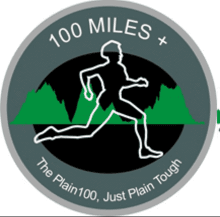 Plain 100M & 100K logo on RaceRaves