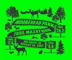 Moorehead Park Trail Mazathon logo on RaceRaves
