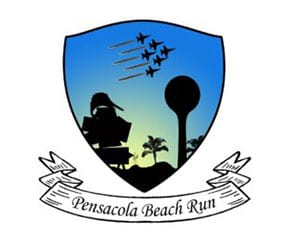 Pensacola Beach Run Half Marathon logo on RaceRaves