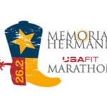 Memorial Hermann USA Fit Marathon & Half Marathon logo on RaceRaves