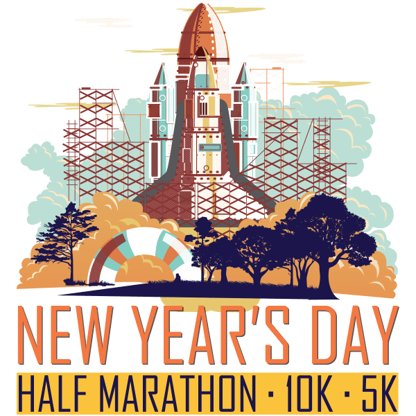 Brazen New Year's Day Half Marathon, 10K & 5K logo on RaceRaves