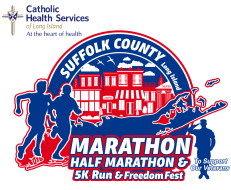 Suffolk County Marathon logo on RaceRaves