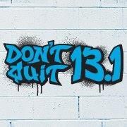 Don't Quit 13.1 logo on RaceRaves