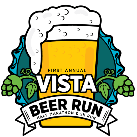 Vista Beer Run logo on RaceRaves