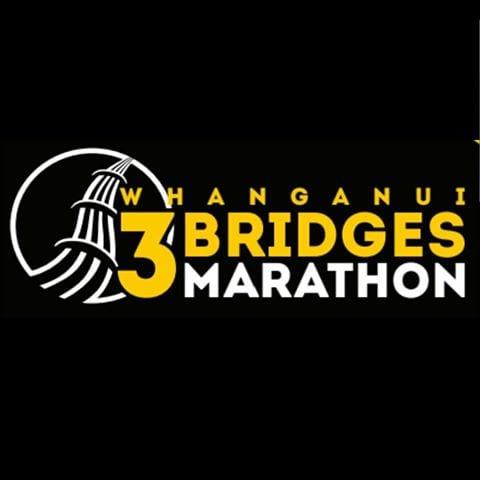 Wanganui 3 Bridges Marathon logo on RaceRaves