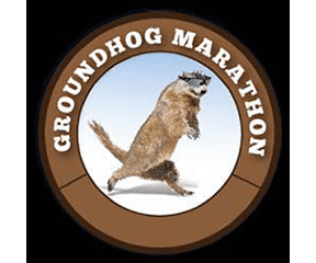 Groundhog Day Marathon and Half Marathon logo on RaceRaves