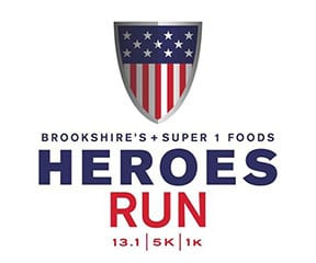Heroes Run Shreveport logo on RaceRaves