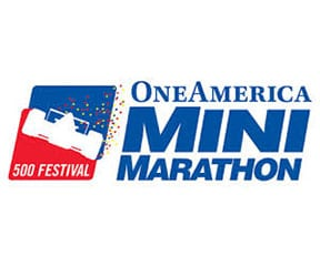 OneAmerica 500 Festival Mini-Marathon (Indy Mini) logo on RaceRaves