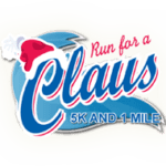 Run for a Claus logo on RaceRaves