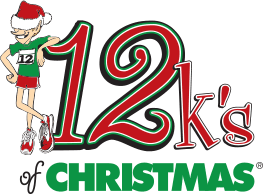 12K's of Christmas logo on RaceRaves