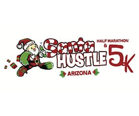 Santa Hustle Arizona logo on RaceRaves