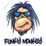 Funky Monkey Half Marathon logo on RaceRaves