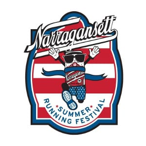 Narragansett Summer Running Festival logo on RaceRaves
