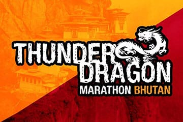 Thunder Dragon Marathon logo on RaceRaves