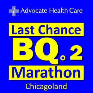 Last Chance BQ.2 Marathon Chicagoland logo on RaceRaves