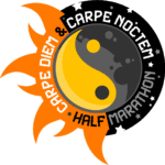Carpe Diem and Carpe Noctem Half Marathon and 10K logo on RaceRaves