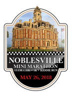 Noblesville Mini Marathon logo on RaceRaves