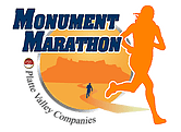 Monument Marathon & Half Marathon logo on RaceRaves