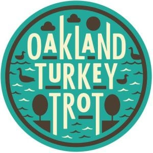 Oakland Turkey Trot logo on RaceRaves