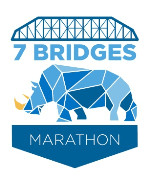 7 Bridges Marathon & 4 Bridges Half Marathon logo on RaceRaves