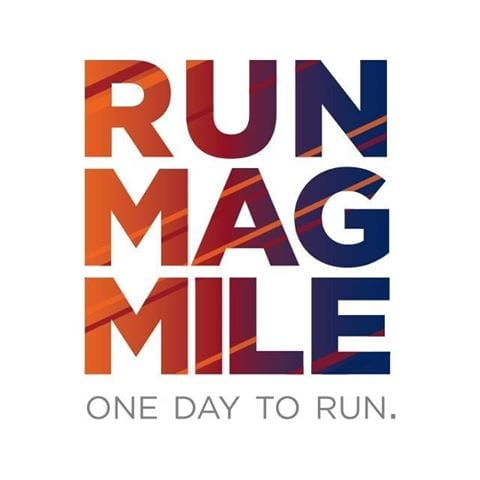 Run Mag Mile 10K & 5K logo on RaceRaves