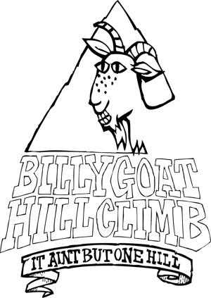 Billy Goat's Hill Climb logo on RaceRaves