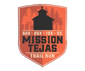 Mission Tejas Trail Run logo on RaceRaves