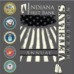 InFirst Bank Veteran's Marathon (PA) logo on RaceRaves