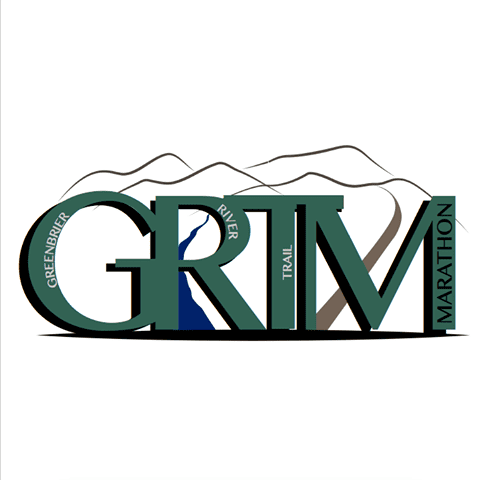Greenbrier River Trail Marathon & Half Marathon logo on RaceRaves