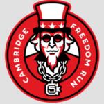 Cambridge Freedom Run logo on RaceRaves