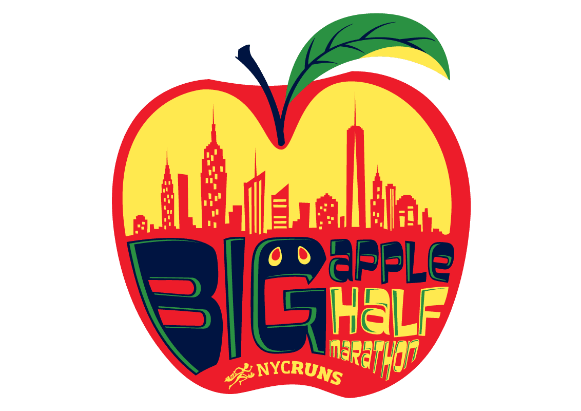 NYCRUNS Big Apple Half Marathon logo on RaceRaves