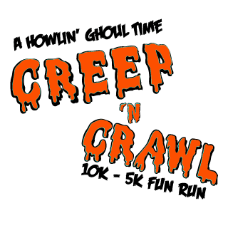 Creep 'N Crawl Fun Run logo on RaceRaves