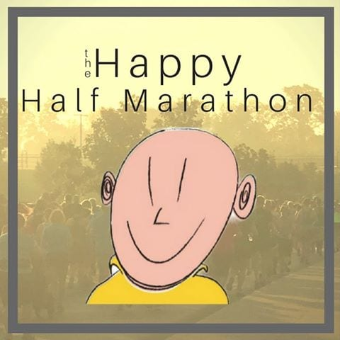 Happy Half Marathon logo on RaceRaves