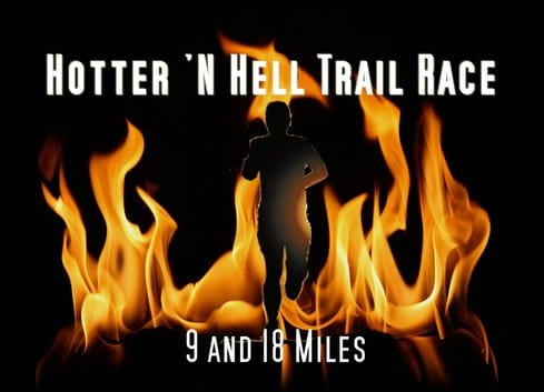 Hotter N Hell Trail Race logo on RaceRaves