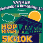 Hop River 5K & 10K logo on RaceRaves