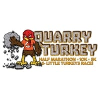 Quarry Turkey Half Marathon, 10K, 5K & Little Turkeys Race logo on RaceRaves