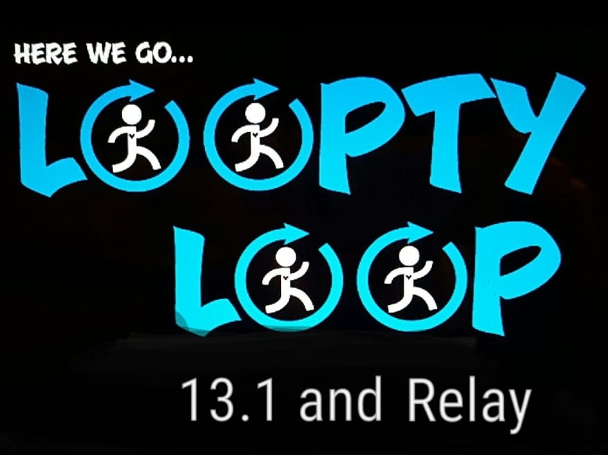Loopty Loop Half Marathon & Relay logo on RaceRaves