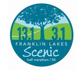 Franklin Lakes Scenic Half Marathon & 5K logo on RaceRaves