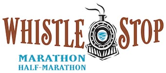 WhistleStop Marathon & Half Marathon logo on RaceRaves