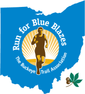 Buckeye Trail Run for Blue Blazes logo on RaceRaves