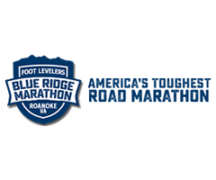Foot Levelers Blue Ridge Marathon logo on RaceRaves