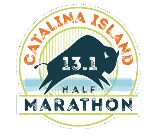 Catalina Island Half Marathon & 10K logo on RaceRaves
