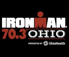 IRONMAN 70.3 Ohio logo on RaceRaves