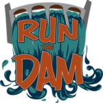 Run the Dam logo on RaceRaves